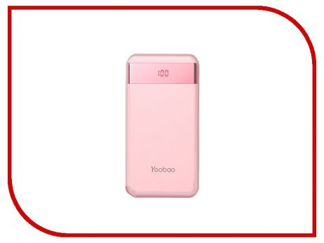 Аккумулятор Yoobao Power Bank M20 Pro 20000mAh Pink