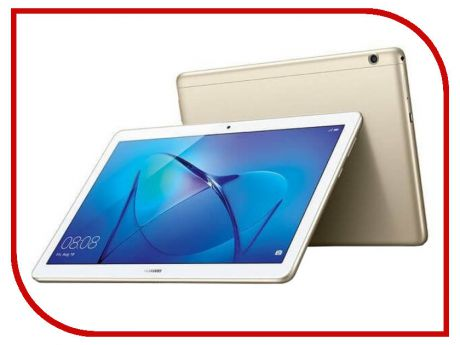 Планшет Huawei MediaPad T3 10 LTE 16Gb AGS-L09 Gold 53018545 (Qualcomm Snapdragon 425 1.4 GHz/2048Mb/16Gb/GPS/LTE/3G/Wi-Fi/Bluetooth/Cam/9.6/1280x800/Android)