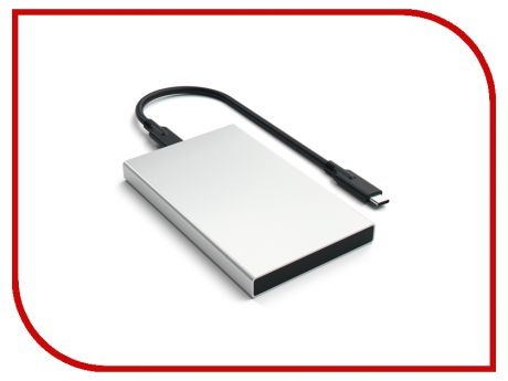 Аксессуар Корпус для HDD Satechi Aluminum ST-TCDES HDD 2.5 USB Type C External Silver