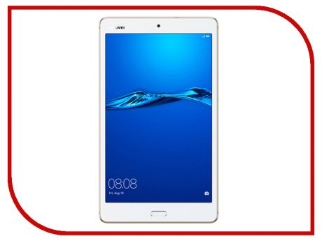 Планшет Huawei MediaPad M3 Lite 8.0 32Gb CPN-L09 Gold 53019448 (Qualcomm MSM8940 Snapdragon 435 1.4 GHz/3072Mb/32Gb/GPS/LTE/Wi-Fi/Bluetooth/Cam/8.0/1920x1200/Android)