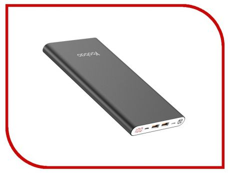 Аккумулятор Yoobao Power Bank A2 Slim 20000mAh Grey