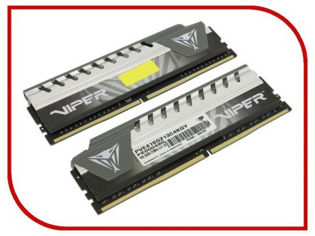 Модуль памяти Patriot Memory DDR4 DIMM 2133Mhz PC4-17000 CL14 - 16Gb KIT (2x8Gb) PVE416G213C4KGY