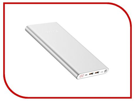 Аккумулятор Yoobao Power Bank A2 Slim 20000mAh Silver