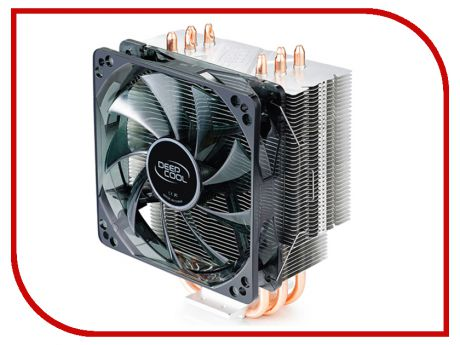 Кулер DeepCool Gammaxx 400 Red (Intel LGA2011-V3/2011/1366/1156/55/51/50/775/AMD FM2+/FM2/FM1/AM3+/AM3/AM2+/AM2/AM4)