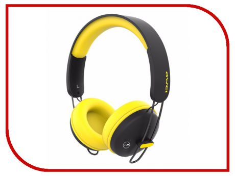 Гарнитура Awei A800BL Black-Yellow