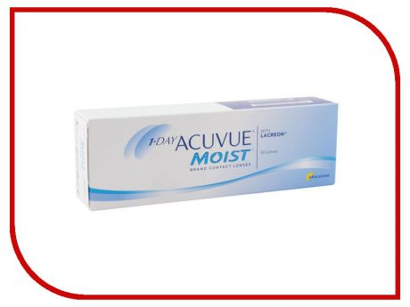 Контактные линзы Johnson & Johnson 1-Day Acuvue Moist (30 линз / 8.5 / -5)