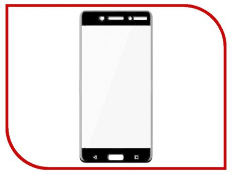 Аксессуар Защитное стекло Nokia 6 Zibelino TG Full Screen 0.33mm 2.5D Black ZTG-FS-NK-6-BLK