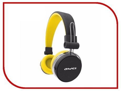 Гарнитура Awei A700BL Black-Yellow