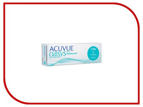 Контактные линзы Johnson & Johnson Acuvue Oasys 1 Day (30 линз / 8.5 / -5.25)
