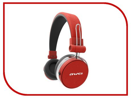 Гарнитура Awei A700BL Red-Black
