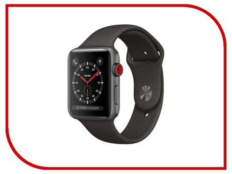 Аксессуар Ремешок Activ Sport Band для APPLE Watch 38mm Dark Gray 79517