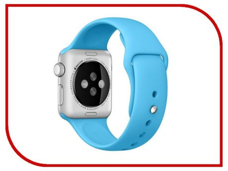 Аксессуар Ремешок Activ Sport Band для APPLE Watch 38mm Light Blue 79521