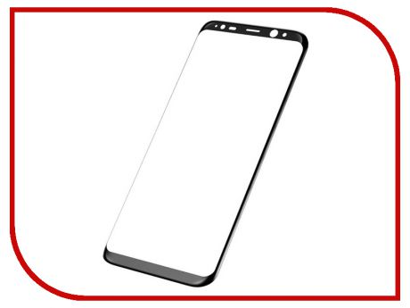 Аксессуар Защитное стекло Samsung Galaxy S8 Plus Smarterra Full Cover Glass Black SFCGS8PBK