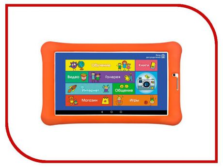 Планшет TurboKids Turbo Kids 3G NEW (МТК МТ8321 1.3 GHz/1024Mb/8Gb/GPS/3G/Wi-Fi/Bluetooth/Cam/7.0/1024x600/Android)