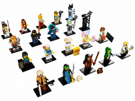 Минифигурки LEGO LEGO 71019 Минифигурки LEGO, серия NINJAGO Movie