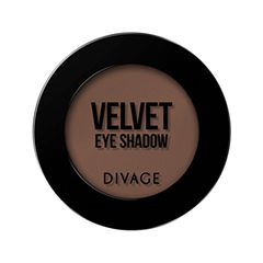 Тени для век Divage Velvet 02 (Цвет 7302 variant_hex_name 7C584C)
