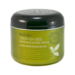 Крем FarmStay Green Tea Seed Whitening Water Cream (Объем 100 г)