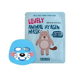 Тканевая маска Baviphat Dr.119 Lovely Animal Hyagen Mask (Объем 25 мл)