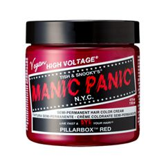 Полуперманентное окрашивание Manic Panic Pillarbox Red Classic Creme (Цвет Pillarbox Red variant_hex_name E33E4C)