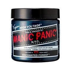 Полуперманентное окрашивание Manic Panic Classic Creme Enchanted Forest (Цвет Enchanted Forest  variant_hex_name 175C4F)