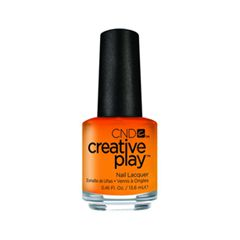 Лак для ногтей CND Creative Play 424 (Цвет 424 Apricot in the Act variant_hex_name FEA644)