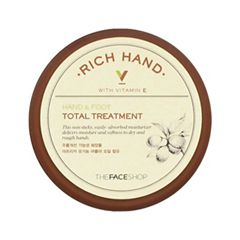 Крем для ног The Face Shop Rich Hand V Hand & Foot Total Treatment (Объем 110 мл)