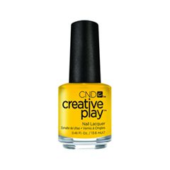 Лак для ногтей CND Creative Play 462 (Цвет 462 Taxi, Please variant_hex_name FDE020)