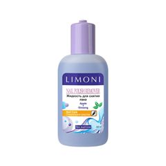 Средства для снятия лака Limoni Nail Polish Remover Apple+Ginseng (Объем 120 мл)