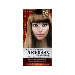 Перманентное окрашивание Richenna Color Cream 7YN (Цвет 7YN Golden Blonde variant_hex_name 9B7252)