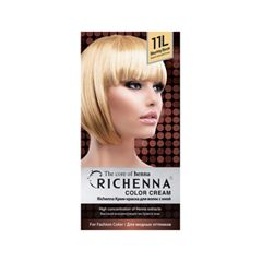Перманентное окрашивание Richenna Color Cream 11L (Цвет 11L Bleaching Blonde variant_hex_name E9C48D)