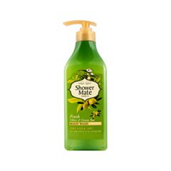 Гель для душа KeraSys Shower Mate Body Wash Fresh Olive & Green Tea (Объем 550 г)