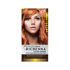 Перманентное окрашивание Richenna Color Cream 8OR (Цвет 8OR Soft Orange variant_hex_name E38454)