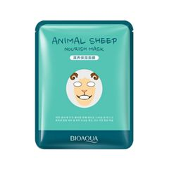 Тканевая маска BioAqua Animal Face Nourish Sheep (Объем 30 г)