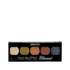 Для глаз Absolute New York True Palette 73 (Цвет NF073 Element variant_hex_name D18856)