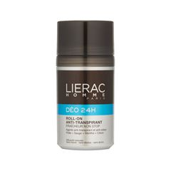 Дезодорант Lierac Homme Déodorant 24h Roll-on Anti-transpirant (Объем 50 мл)
