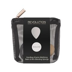 Макияж Makeup Revolution Набор для макияжа Handbag #Hack Mattifying Balm & Mini Blending Sponge