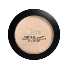 Компактная пудра Milani Prep + Set + Glow Illuminating Transparent Powder (Цвет Illuminating Transparent Powder variant_hex_name E3C4A8)