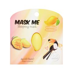 Ночная маска Beauty Bar Mask Me Sleeping Mask Soothing Mango (Объем 4 г)