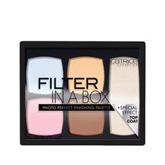 Для лица Catrice Filter in a Box Photo Perfect Finishing Palette (Цвет 010 Camera Ready variant_hex_name FED3A9)