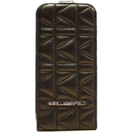 Чехол для iPhone 6/6S Lagerfeld Kuilted Flip KLFLP6QB Black