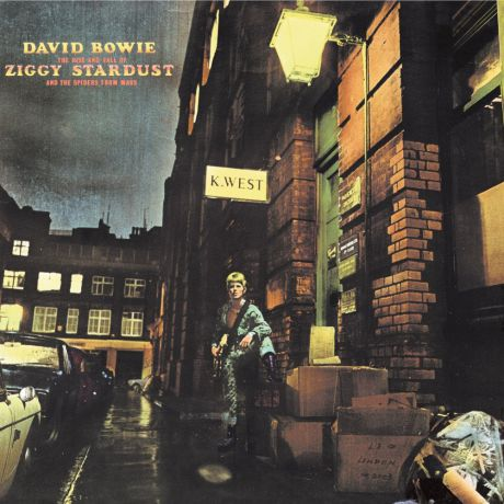 CD David Bowie The Rise and Fall of Ziggy Stardust and the Spiders from Mars (Remastered)