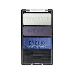 Тени для век Wet n Wild Color Icon Eyeshadow Trio E382 (Цвет E382 Can`t Touch This variant_hex_name 8A8DA6)
