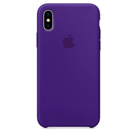 Чехол для iPhone Apple iPhone X Silicone Case Ultra Violet (MQT72ZM/A)
