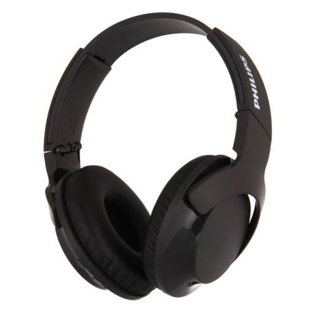 Наушники Bluetooth Philips Bass+ Black (SHB3175BK/00)