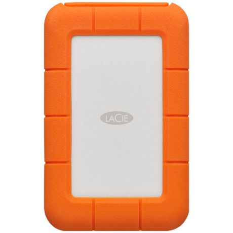 Внешний жесткий диск с Thunderbolt LaCie 500GB SSD Rugged Thunderbolt USB-C (STFS1000400)