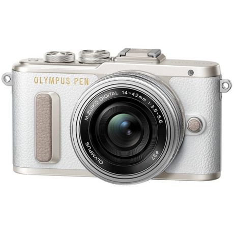 Фотоаппарат системный Olympus E-PL8 white + 14-42mm EZ silver gift set