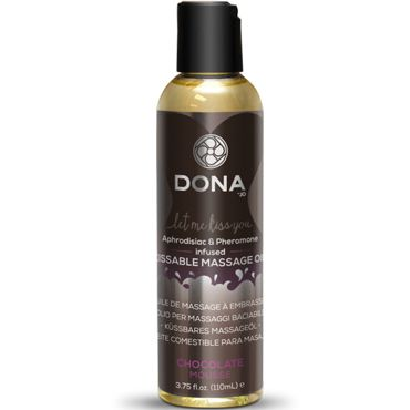 Dona Kissable Massage Oil Chocolate Mousse, 110 мл Ароматическое массажное масло шоколад