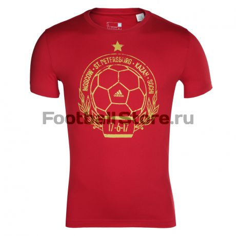 Russia Adidas Футболка Adidas Russia Stamp BP7281