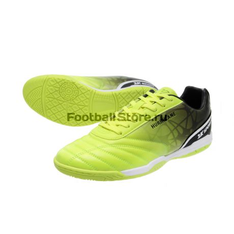 Обувь для зала 2K Обувь для зала 2K Sport Hurricane IC Lime/Black 125426-010