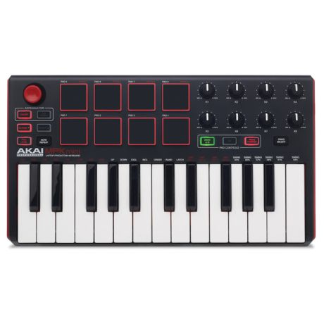 MIDI-клавиатура AKAI Professional MPK mini mkII Black